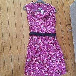 Ann Taylor cowl neck dress